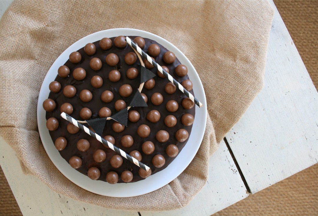 birthday cake aux maltesers