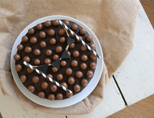 birthday cake aux maltesers