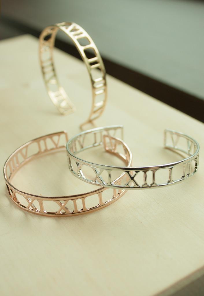 Bracelet chiffres romains - Lunapyxis