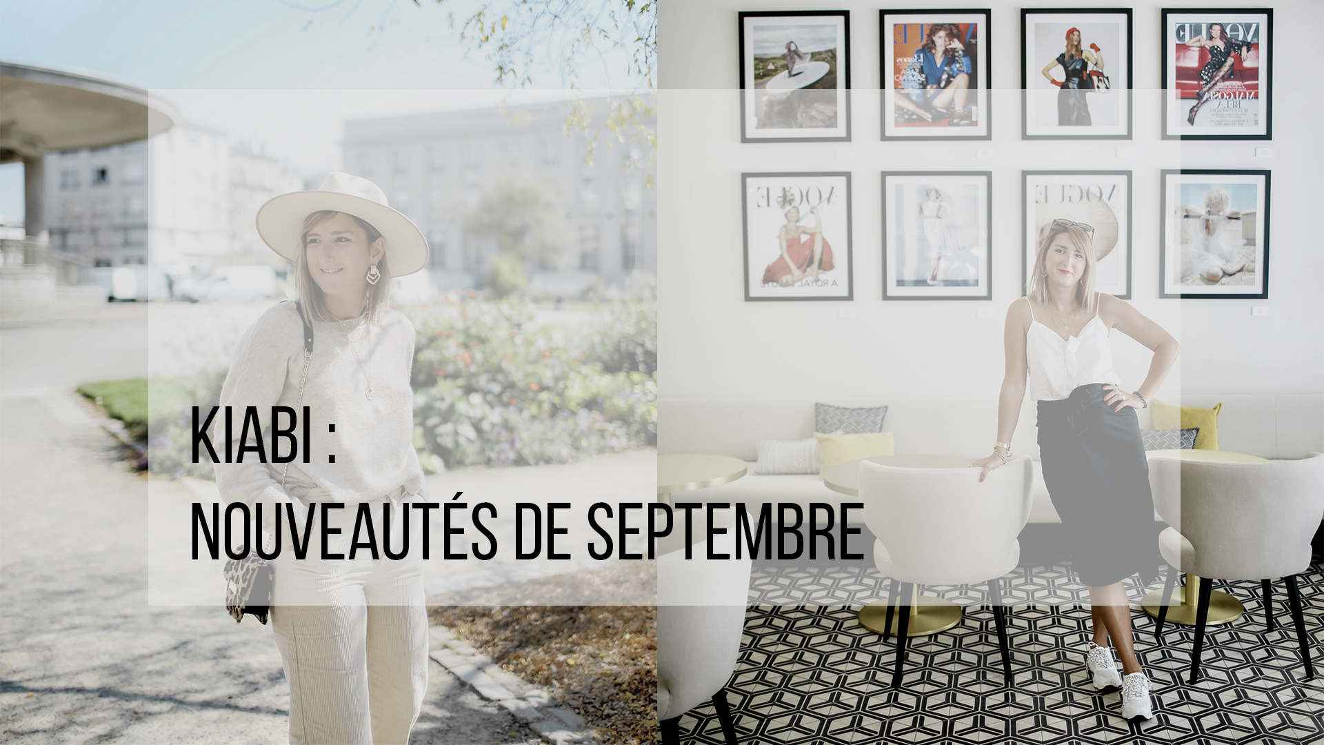 Kiabi : Les nouveautés de septembre L'instant Flo